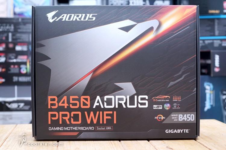 技嘉GIGABYTE B450 AORUS PRO WIFI + Ryzen 5 2600 超频测试